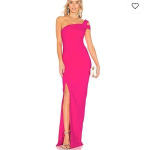 Likely gown in hot pink